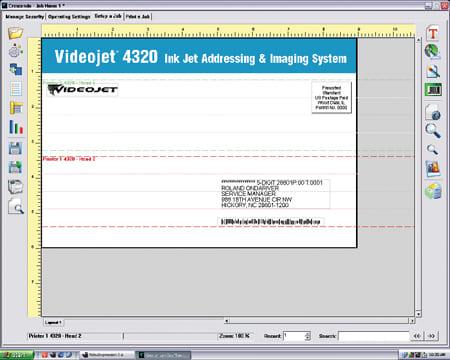 Графическая система Videojet 4320 в Альянс-КМ